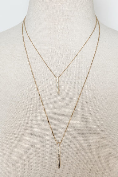 Two-Layer Dainty Gold Necklace