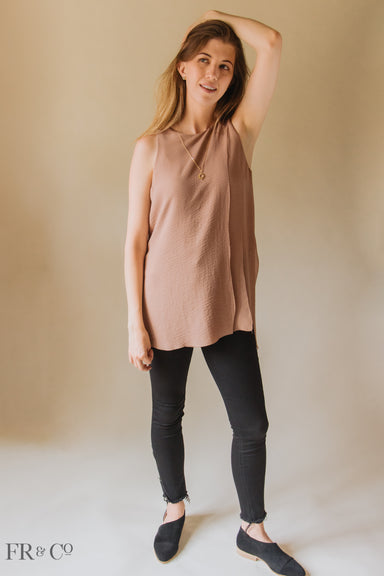 Multi Layer Sleeveless Top