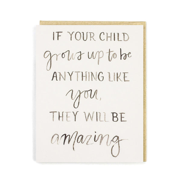 Amazing Parents Baby Card