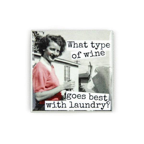 What Type Of Wine Goes With Laundry Magnet