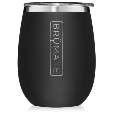 14oz Wine Tumbler - Matte Black