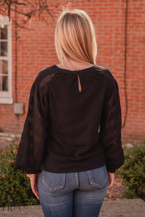 Kendra Blouse - Black