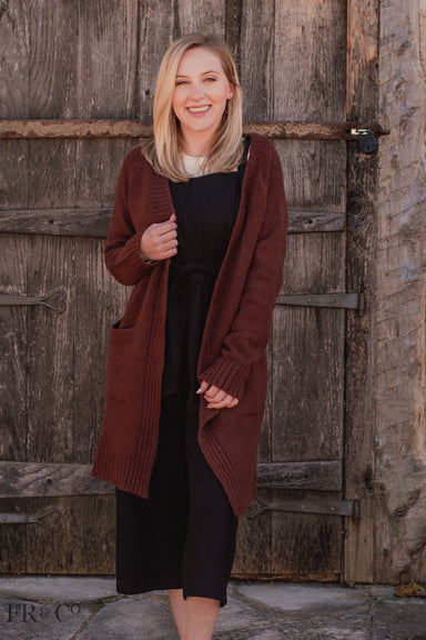 Juniper Cardigan - Brown