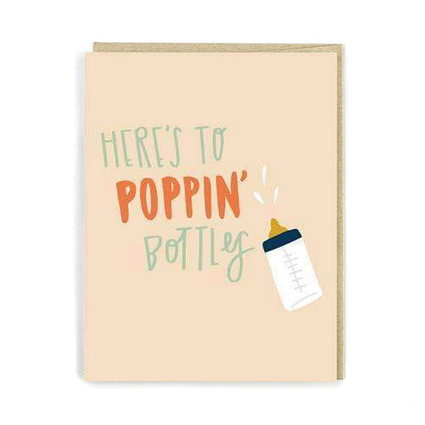 Here's to Poppin' Bottles Card