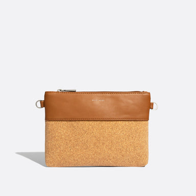 Nicole Small Zippered Vegan Pouch Wristlet