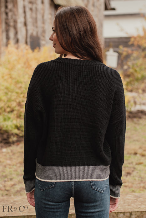 Ivy Sweater - Black