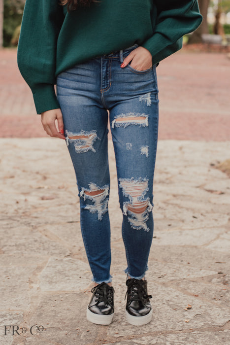 Cassidy Mid Rise Skinny Jean