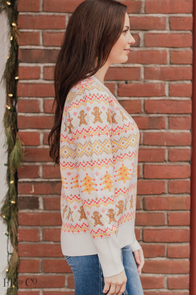 Christmas Sweater - Ivory