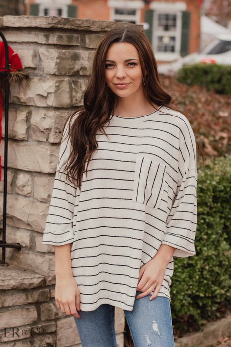 Marilyn Striped Top