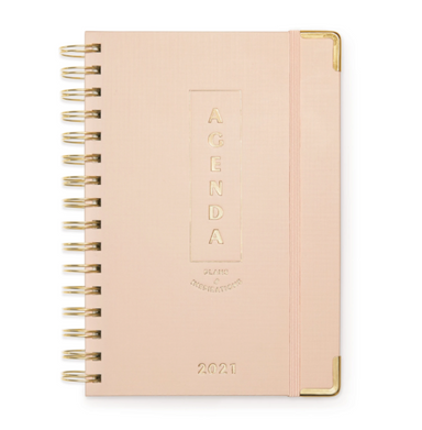 Pink Plans Monthly Planner 2021