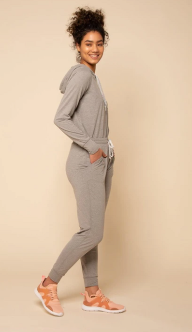 Lounging Jogger - Heather Grey