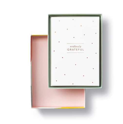 Endlessly Grateful Notecards - Thank You Cards