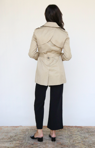 Trench Jacket with Belt
