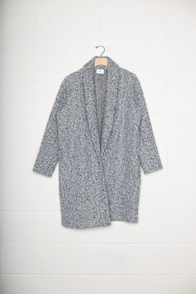 Sherpa Open Front Cardigan