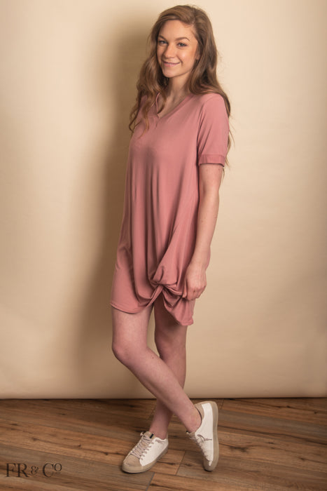 Courtney Dress - Blush