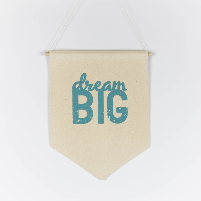 Dream Big 11x15 Canvas Banner