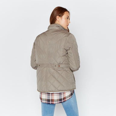 Quilted Jacket with Sherpa Lining