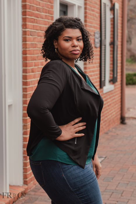 Elaine Jacket - Plus Size