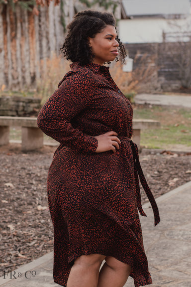 Jasmine Shirt Dress - Extended Size