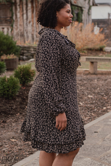 Rosie Wrap Dress - Plus Size