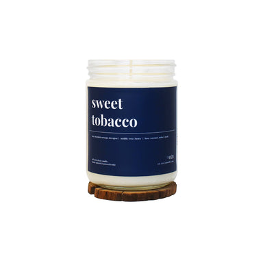 Sweet Tobacco Scented Soy Candle - 16oz