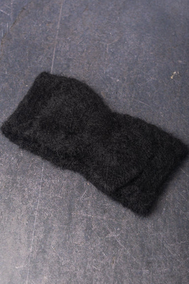 Furry Knitted Headband
