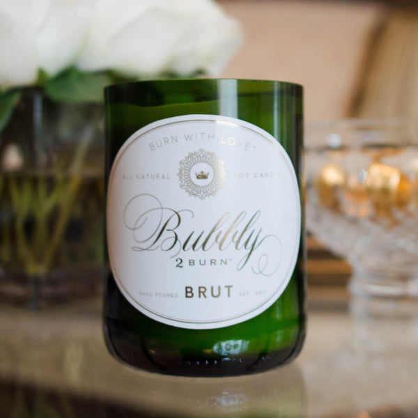 Bubbly - Brut Champagne Candle