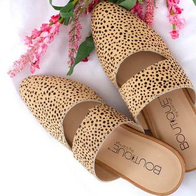 Leopard Animal Print Dress Slide