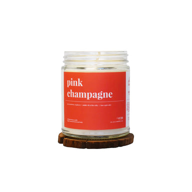Pink Champagne Soy Candle - 9oz