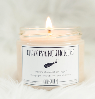 Champagne Showers Vegan Soy Candle