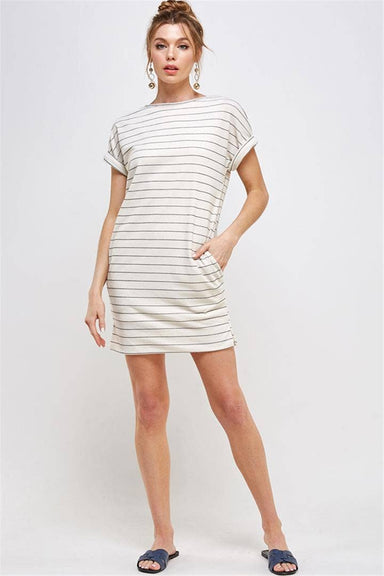 Kerry Striped Knit Dress