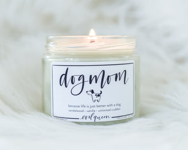 Dog Mom Vegan Soy Candle