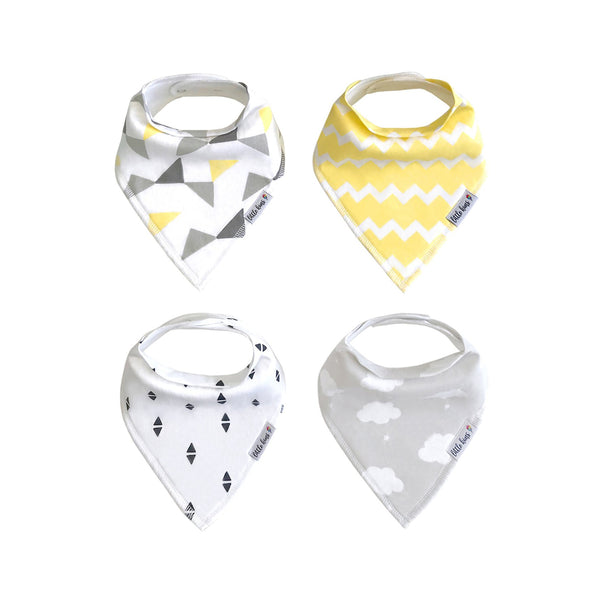 Organic Bandana Bib Set - Sweet Dreams