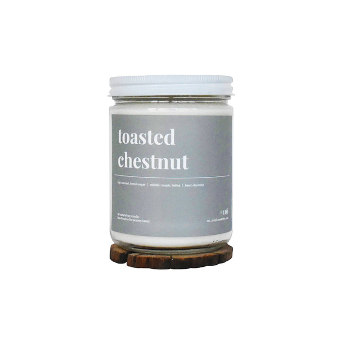 Toasted Chestnuts Soy Candle - 16oz