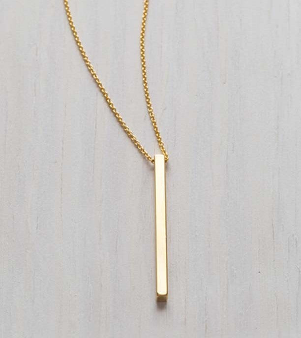 Golden Rod Necklace