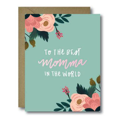 Best Momma Mother's Day Card