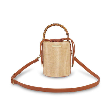 Jordan Bamboo Purse - Natural