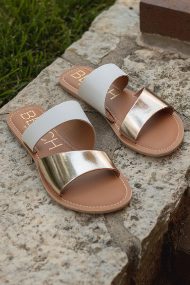 Coastal Gold Sandal