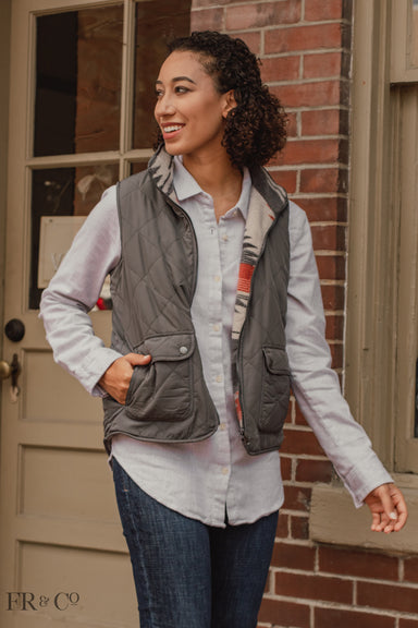 Riley Vest - Grey