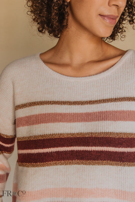 Bridget Striped Sweater