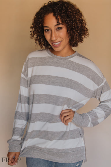 Claire Rugby Pullover