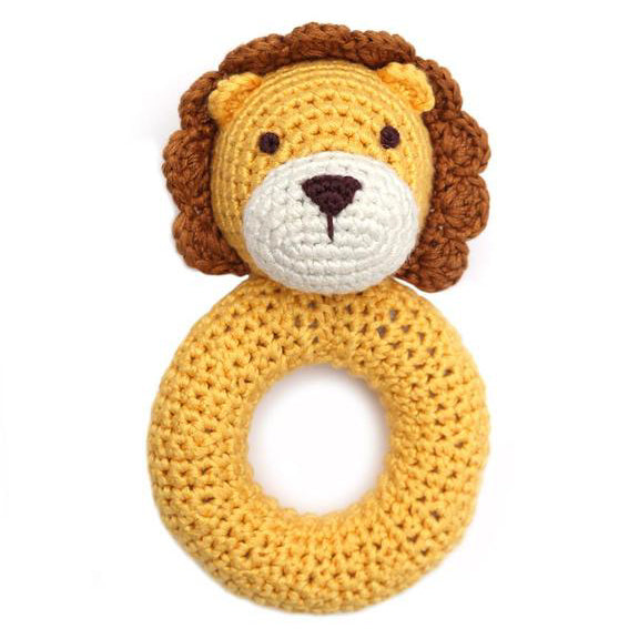 Lion Ring Rattle