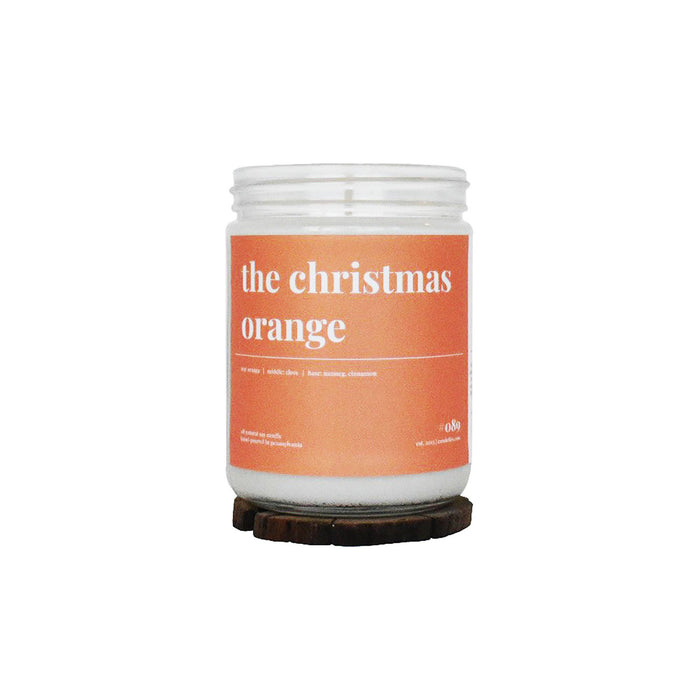 Christmas Orange Soy Candle - 16 oz