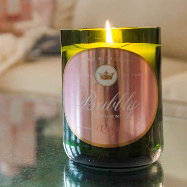 Bubbly - Rose Champagne Candle