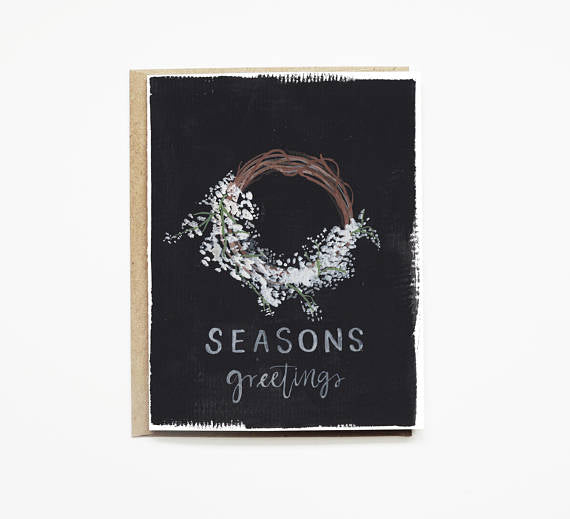 Season Greetings Holiday Card