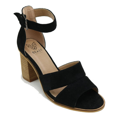 Lara Block Heel - Black