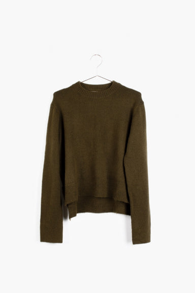 Maverick High-Low Sweater with Side Slits
