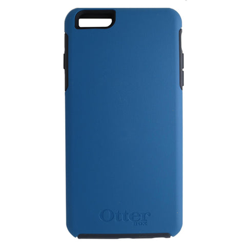 OtterBox Symmetry Series Case for Apple iPhone 6 Plus or iPhone 6s Plus - Deep Blue/Gray Trim