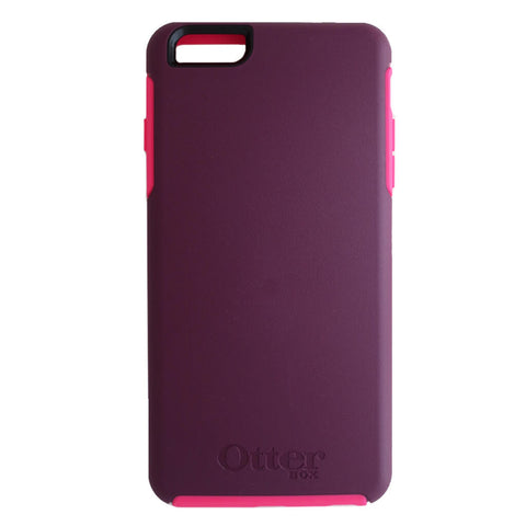 OtterBox Symmetry Series Case for Apple iPhone 6 Plus or iPhone 6s Plus - Damson Purple/Pink Trim