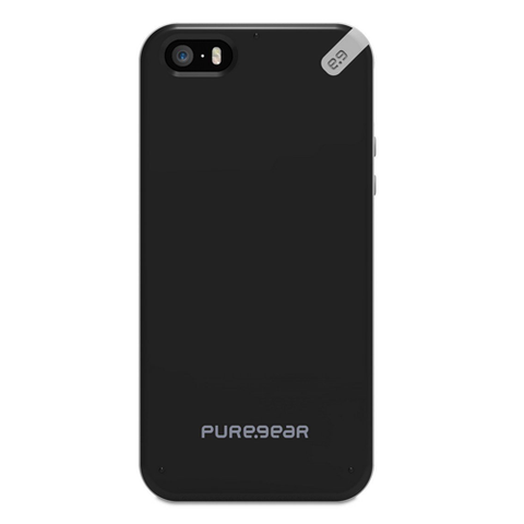 PureGear Slim Shell Case for iPhone 5S/5 - Black Tea